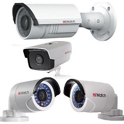 Цилиндрические IP видеокамеры